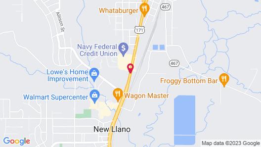 Days Inn by Wyndham Leesville Map