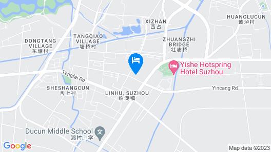 Suzhou Yishe Hotspring Hotel Map