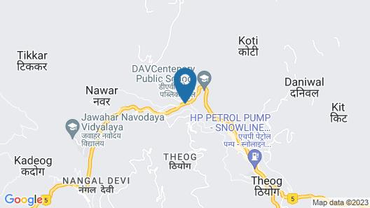 Taj Theog Resort & Spa, Shimla Map