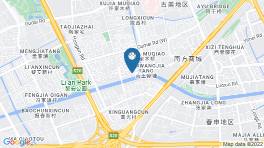 Jeurong Hotel Shanghai Map