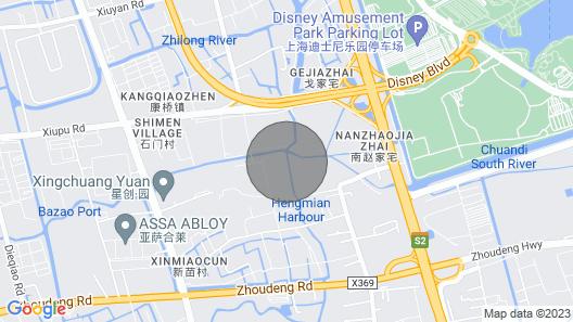 Shanghai Disneyland Hotel Map