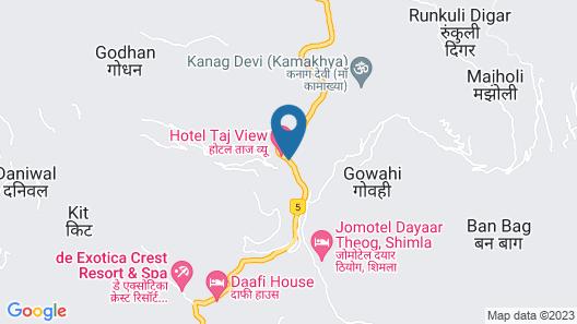 Hotel Taj View Map