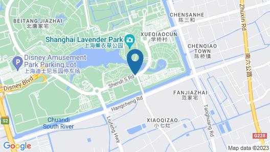 Xixili Disney 2nd Branch Map