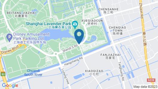 Xixili Disney 3rd Branch Map
