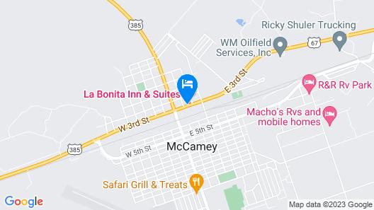 La Bonita Inn And Suites Map