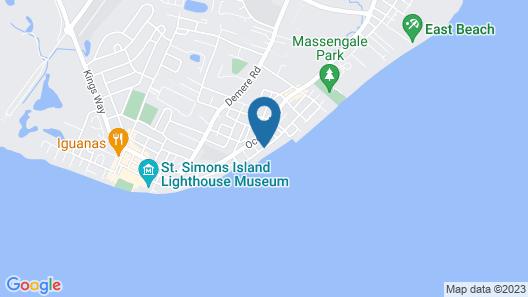 Sea Gate Inn by Sea Palm Resort Map