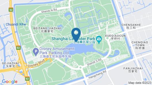 Melia Shanghai Parkside Map