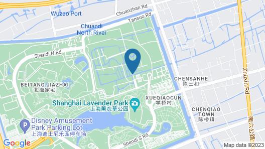 Lin Jia Camping Site Shanghai Map