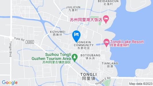 Stay in joy Tongyintang Tongli Map