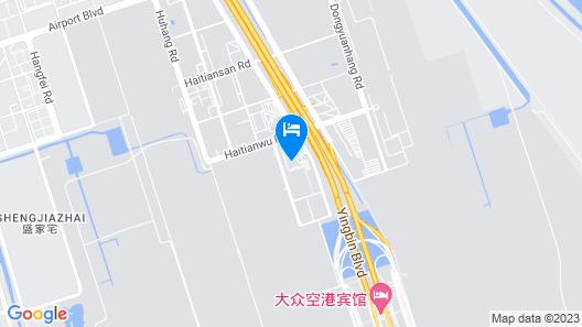 Ramada Plaza Shanghai Pudong Airport Map