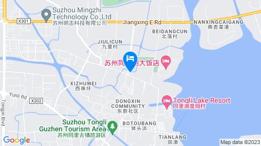 Tongli Lakeview Hotel Map
