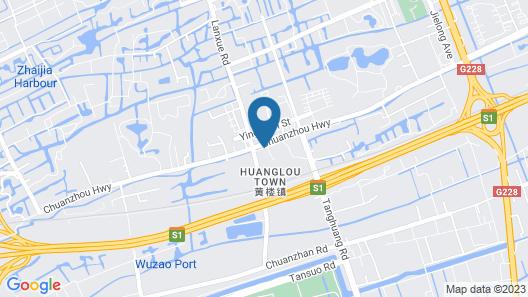 Floral Hotel Jian Lv Shanghai Map