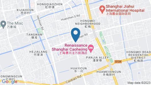 Renaissance Shanghai Caohejing Hotel Map