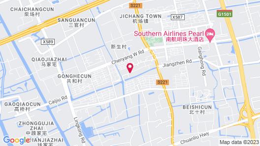 Lin Yin Art Hotel Shanghai (Pudong Airport) Map