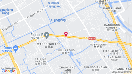 Novotel Suites Shanghai Hongqiao Hotel Map