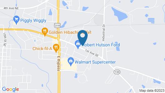 Motel 6 Moultrie, GA Map