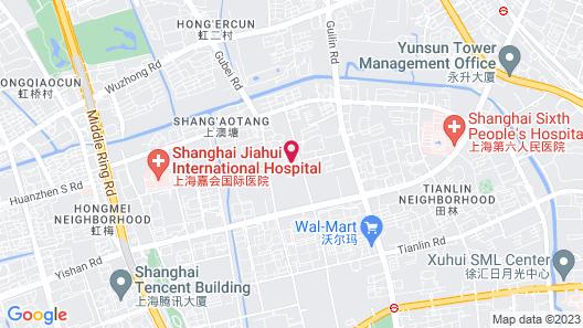 Shanghai Haiyatt Hotel Map