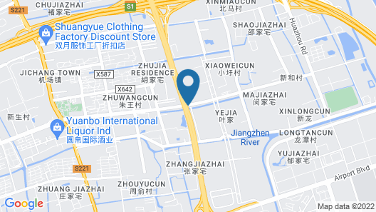 Shanghai-Deco Hotel(Pudong Airport/Free Trade Zone Area) Map