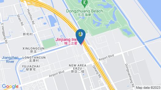 Jinjiang Inn Shanghai Pudong Airport II Map