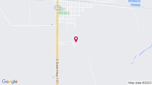 OYO Hotel Big Lake Hwy 137 TX Map