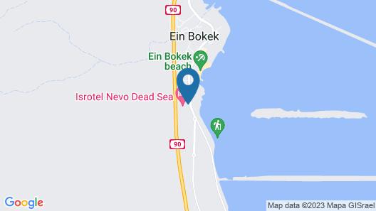 Isrotel Dead Sea Map