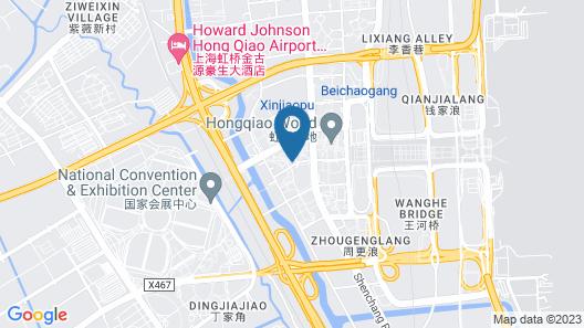 Hyatt Place Shanghai Hongqiao CBD Map
