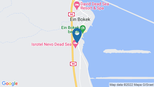 Daniel Dead Sea Hotel Map