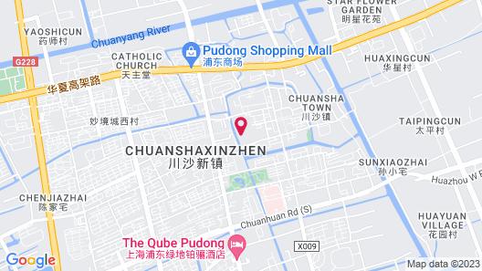 Shanghai Forson Int'l Boutique Hotel - I Map