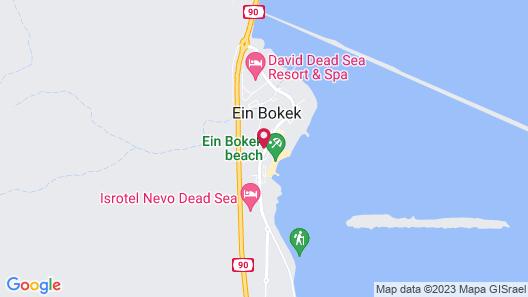 Isrotel Ganim - Dead Sea Map