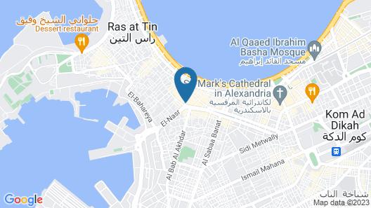 Amoun Hotel Alexandria Map