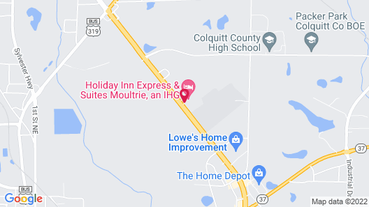 Holiday Inn Express and Suites Moultrie, an IHG Hotel Map