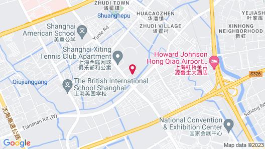 Radisson Blu Forest Manor Shanghai Hongqiao Map