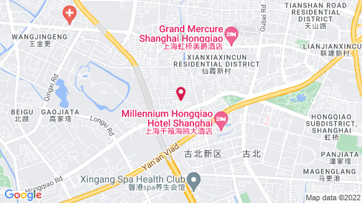 Grand Millennium HongQiao Shanghai Map