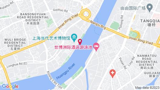 InterContinental Shanghai Expo, an IHG Hotel Map
