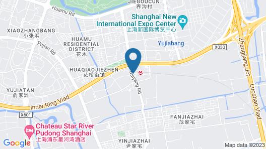 Good Time Travellers Inn- Shanghai New International Expo Apartment Map
