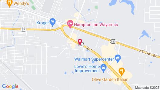 Days Inn by Wyndham Waycross Map