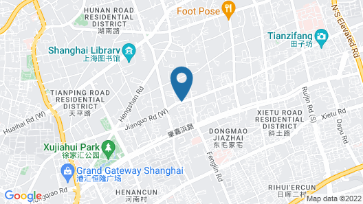 Capella Shanghai, Jian Ye Li Map