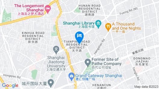 Juss Hengshan Hotel (Regal International East Asia Hotel) Map