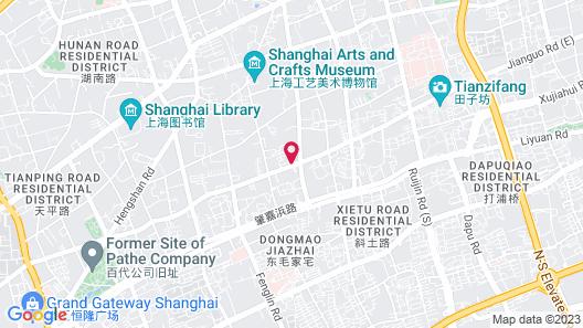 Somerset Xu Hui Shanghai Map