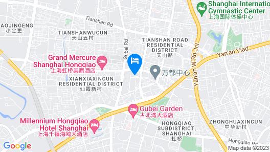 Renaissance Shanghai Yangtze Hotel Map