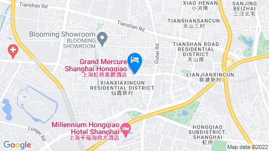 Grand Mercure Shanghai Hongqiao Map