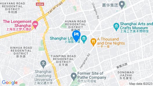 Ascott Heng Shan Shanghai Map