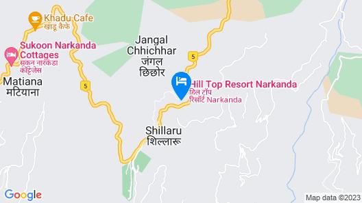 OYO 22347 Hilltop Resorts Map