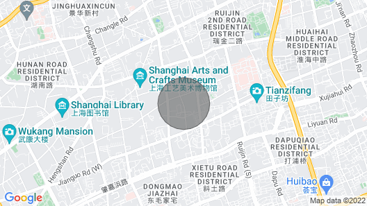 Charming Lodge Line 1 French Concession SH Map