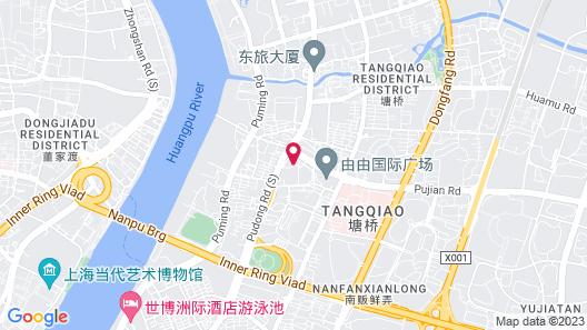 Sheraton Grand Shanghai Pudong Hotel & Residences Map