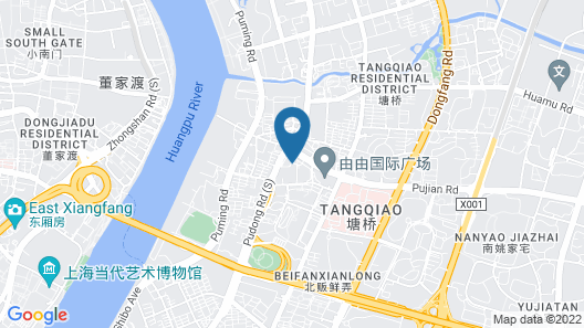 Sheraton Grand Shanghai Pudong Hotel & Residences Map