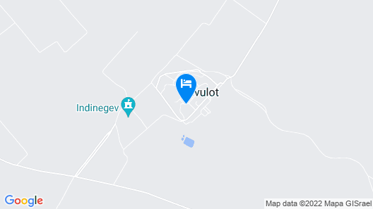 Kibbutz Gvulot Country Lodging Map
