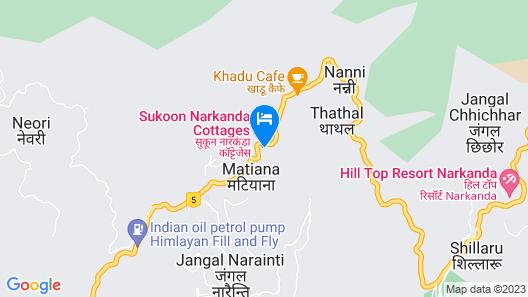 Echor- Narkanda Cottages Map