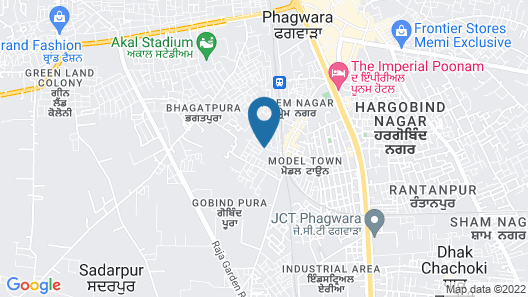 The Imperial Poonam Hotel Map