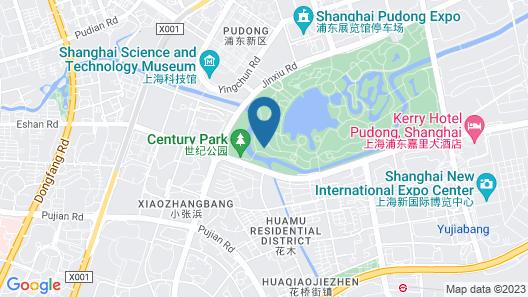 Dorsett Shanghai Map